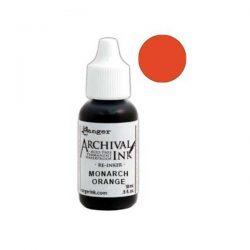 Ranger Archival Ink Pad Reinker - Monarch Orange