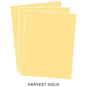 Papertrey Ink Harvest Gold Cardstock class=