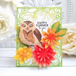 Papertrey Ink Just Sentiments: Summer Mini Stamp
