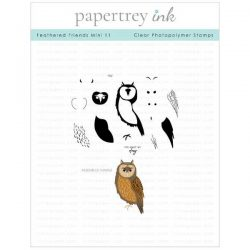 Papertrey Ink Feathered Friends Mini 11 Stamp