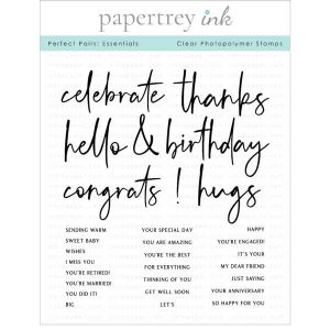 Papertrey Ink Perfect Pairs: Essentials Stamp