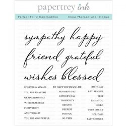 Papertrey Ink Perfect Pairs: Commodities Stamp