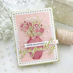Papertrey Ink Vase Collection 1 Stamp