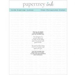 Papertrey Ink Inside Greetings: Summer Stamp