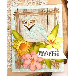 Papertrey Ink Feathered Friends 11 Die class=