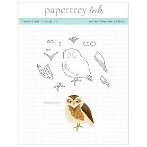 Papertrey Ink Feathered Friends 11 Die