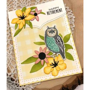 Papertrey Ink Feathered Friends Mini 11 Die class=