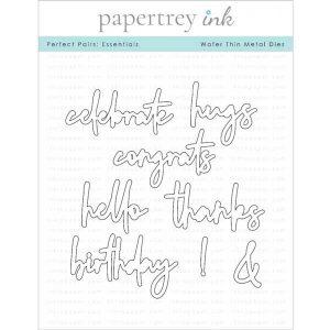 Papertrey Ink Perfect Pairs: Essentials Die