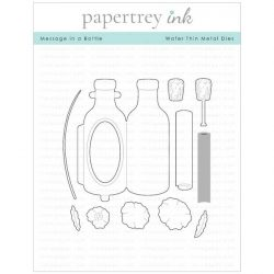Papertrey Ink Message in a Bottle Die