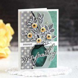 Papertrey Ink Vase Collection 1 Die