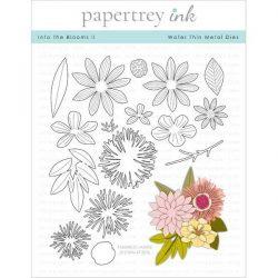 Papertrey Ink Into The Blooms II Die
