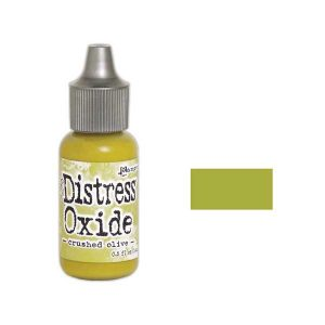 Tim Holtz Distress Oxide Reinker – Crushed Olive