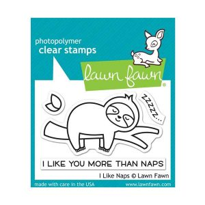 Lawn Fawn I Like Naps Stamp