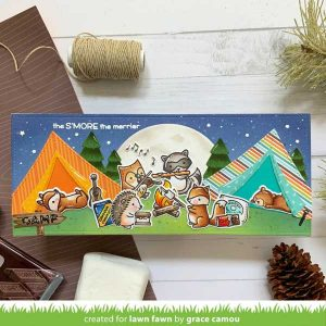 Lawn Fawn S'more the Merrier Stamp class=
