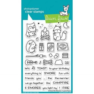 Lawn Fawn S'more the Merrier Stamp