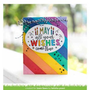 Lawn Fawn Giant Birthday Messages Stamp class=