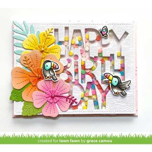 Lawn Fawn Toucan Do It Stamp class=