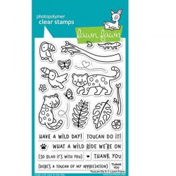 Lawn Fawn Toucan Do It Stamp