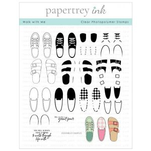 Papertrey Ink Walk With Me Stamp