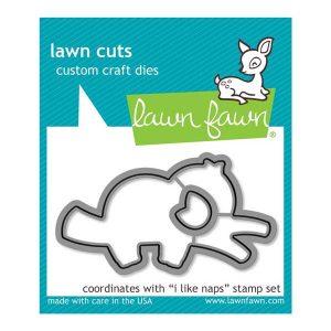 Lawn Fawn I Like Naps Die