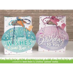 Lawn Fawn Giant Birthday Messages Lawn Cuts class=