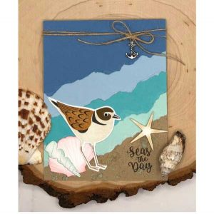 Papertrey Ink Feathered Friends Mini 12 Die class=