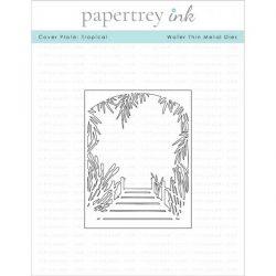 Papertrey Ink Cover Plate: Tropical Die