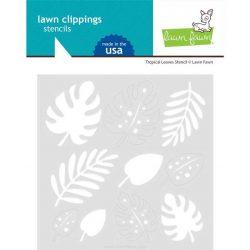Lawn Fawn Tropical Leaves Stencil