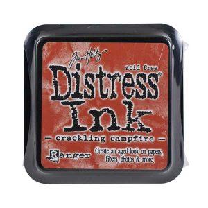 Tim Holtz Distress Ink Pad – Crackling Campfire