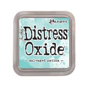Tim Holtz Distress Oxide Ink Pad – Salvaged Patina