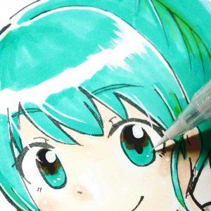 Kuretake Zig Cartoonist Ultra Fine Brush Pen - White class=