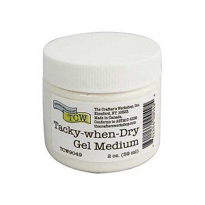Crafter's Workshop Tacky-When-Dry Gel Medium