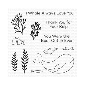 My Favorite Things Best Catch Ever Stamp
