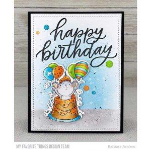 My Favorite Things Happy Birthday Stamp class=