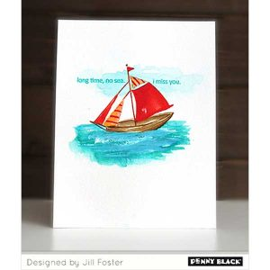 Penny Black Set Sail Stamp class=