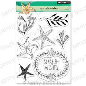 Penny Black Starfish Wishes Stamp