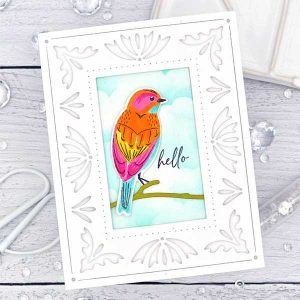 Papertrey Ink Feathered Friends Mini 13 Stamp class=