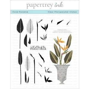 Papertrey Ink Floral Paradise Stamp