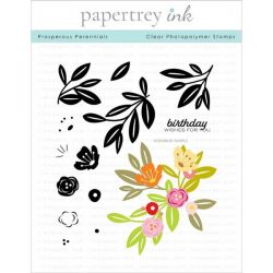 Papertrey Ink Prosperous Perennials Stamp