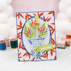 Papertrey Ink Vase Collection 3 Stamp