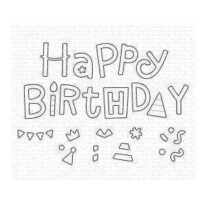 My Favorite Things Happy Birthday Party Die-namics
