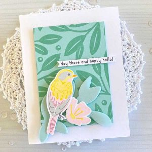 Papertrey Ink Feathered Friends Mini 13 Die class=