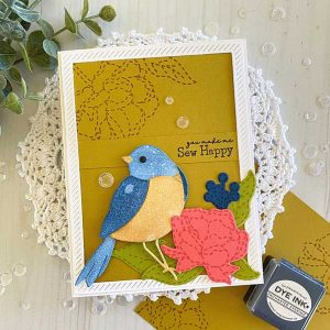 Papertrey Ink Feathered Friends 13 Die class=