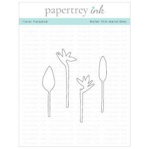 Papertrey Ink Floral Paradise Die
