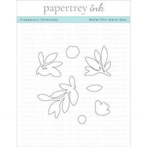 Papertrey Ink Prosperous Perennials Die