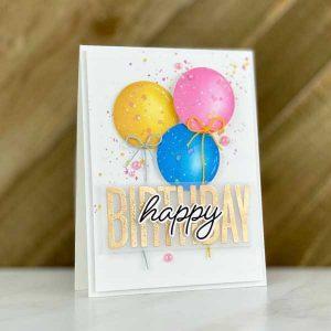 Papertrey Ink Mash-Up Birthday Die class=