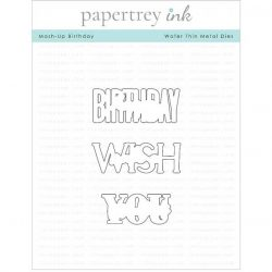Papertrey Ink Mash-Up Birthday Die
