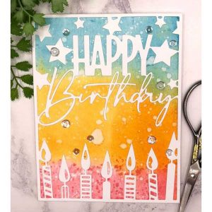Papertrey Ink Cover Plate: Birthday Die class=