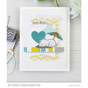 My Favorite Things Beach Bear Stamp Set class=