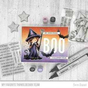 My Favorite Things TI Sweet Little Spell Stamp Set class=